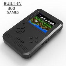 Wholesale 20/40/80/100pcs Retro Handheld Game Console Portable Mini Handheld Game Players Built-in 300 Games Best Gift For Kids