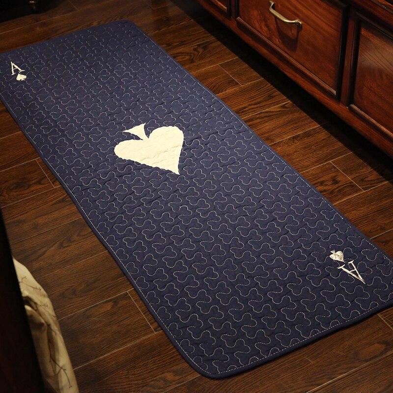 WINLIFE Coréenne Style Pur Coton Tapis Simple Poisson Motif ...