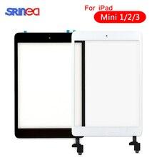 "7.9 ""מגע מסך עבור iPad mini 1 2 3 mini1 mini2 mini3 מגע Digitizer זכוכית עם לחצן בית עבור iPad חיישן חלקי A1489 A1490"