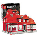 New LEPIN 17006 928Pcs Creator Serier The Red House Set Education Building Kits Blocks Bricks Model Children Toys 4000007