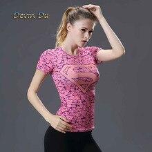 Camiseta mujer logo Superman