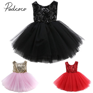 2020 Brand New Toddler Infant Child Kids Baby Girls Flower Lace Formal Wedding Dress Party Bridesmaid Prom Sleeveless Dress