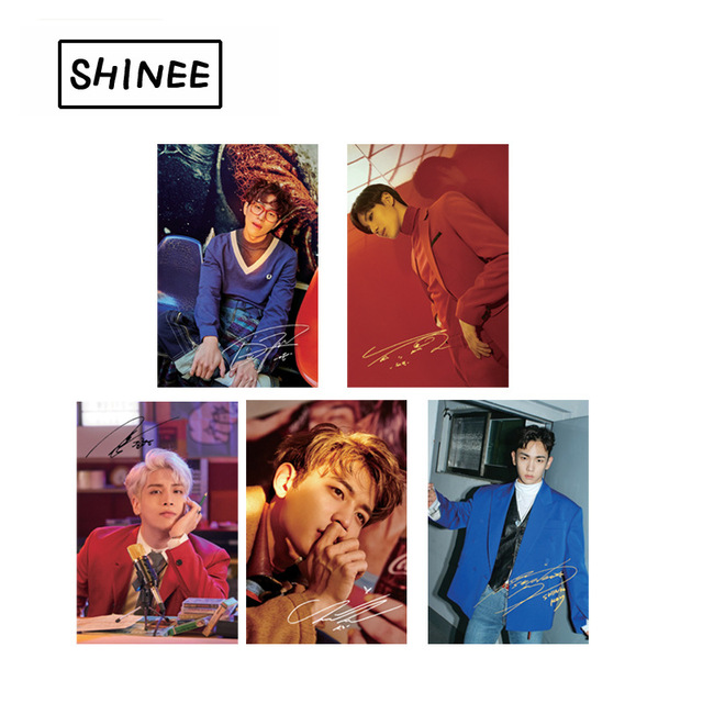 [MYKPOP]SHINee Jonghyun Lee Taemin Photo Album LOMO Cards Matte Paper Photo Card Photocard KPOP Fans Collection SA180051014