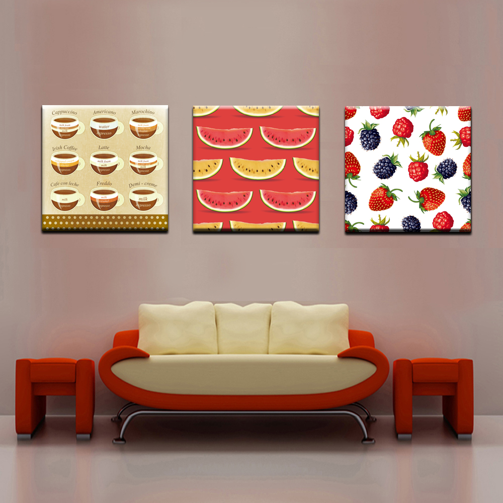 Xh463 fruit kitchen pictures bilder canvas prints home decoration modern wall paintings oil modern painting calligraphy