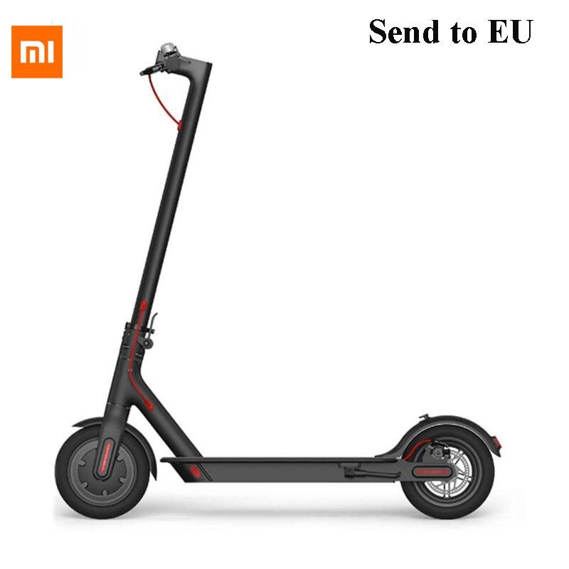 [PL Stock] Xiaomi Mijia M365 Scooter électrique pliant max 25 km/h charge max 100 kg patinete scooter électrique vs iscooter e scooter