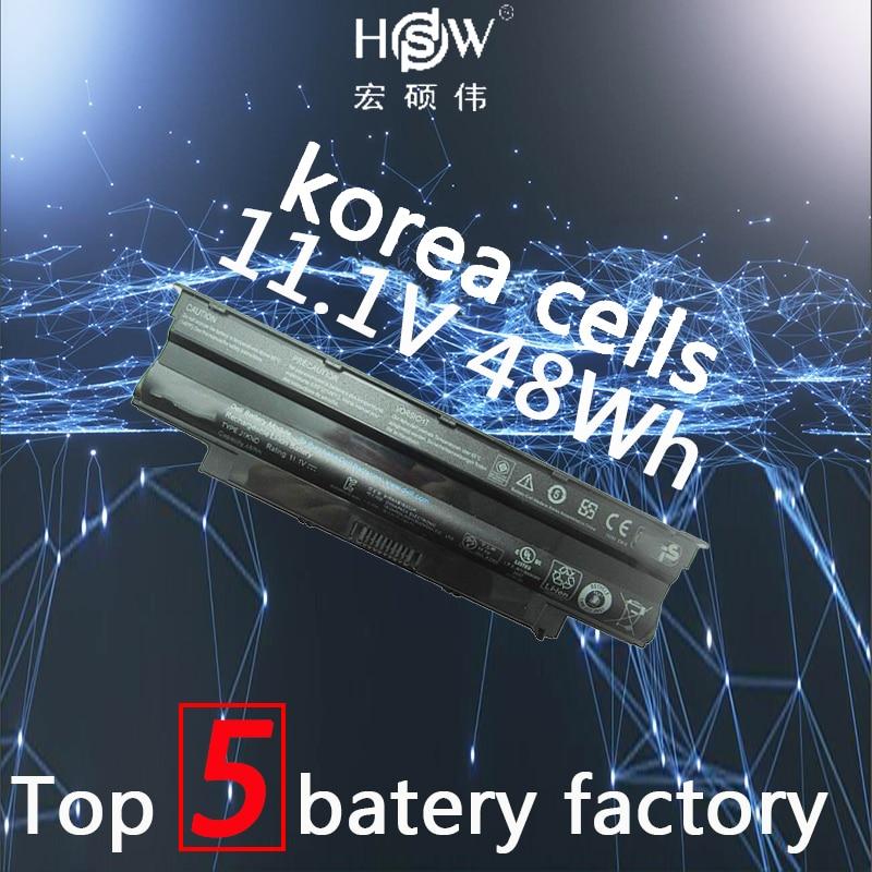 A HSW 11.1 v bateria do portátil para Dell PARA Inspiron 13R 48WH 14R 15R 17R M501 M5010 N3010 N4010 N5010 N5030 04 04YRJH, 06P6PN, 07 07XFJJ