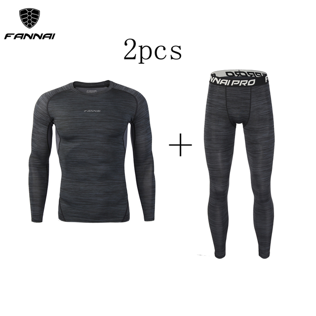 Compression Men's Sport Suits Quick Dry Running sets  1