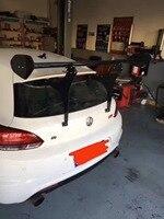 Carbon Fiber CAR REAR WING TRUNK LIP SPOILER FOR Volkswagen VW Golf 6 7 MK6 MK7 R20 R GTI Scirocco R BY EMS