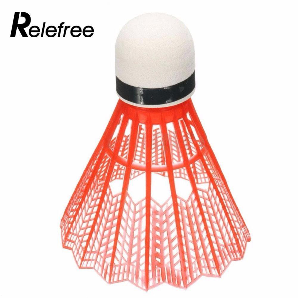 Relefree Горячая 12 шт. Бадминтон шары, красочные Портативный Воланы игры поставки Высокое качество