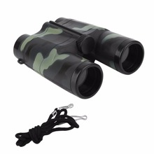 Children Folding Outdoor Mini Binoculars Telescope Scope Camouflage Toy Kids Boy Portable Gift Hunting Sports Hot Sale