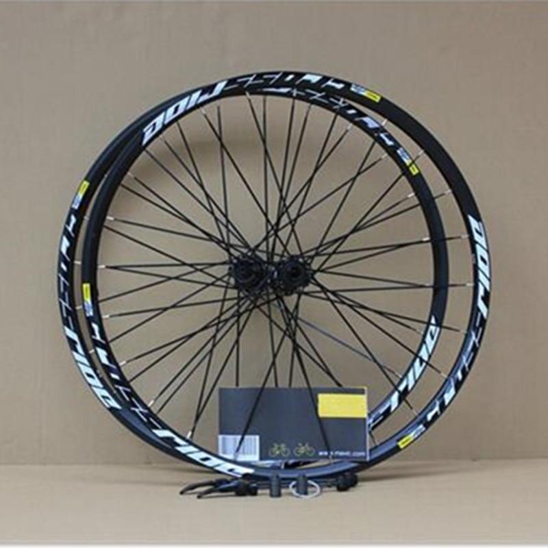 MEROCA MTB Mountain Bike Roda de Bicicleta Rolamentos Selados 26 polegada Seis Buraco Central Bloqueio Aro Rodado 27.5 29