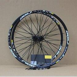 MEROCA MTB горный велосипед герметичный подшипник crossride диск колесная 26 дюймов колеса шесть отверстий Центральный замок колеса обод 27,5 29