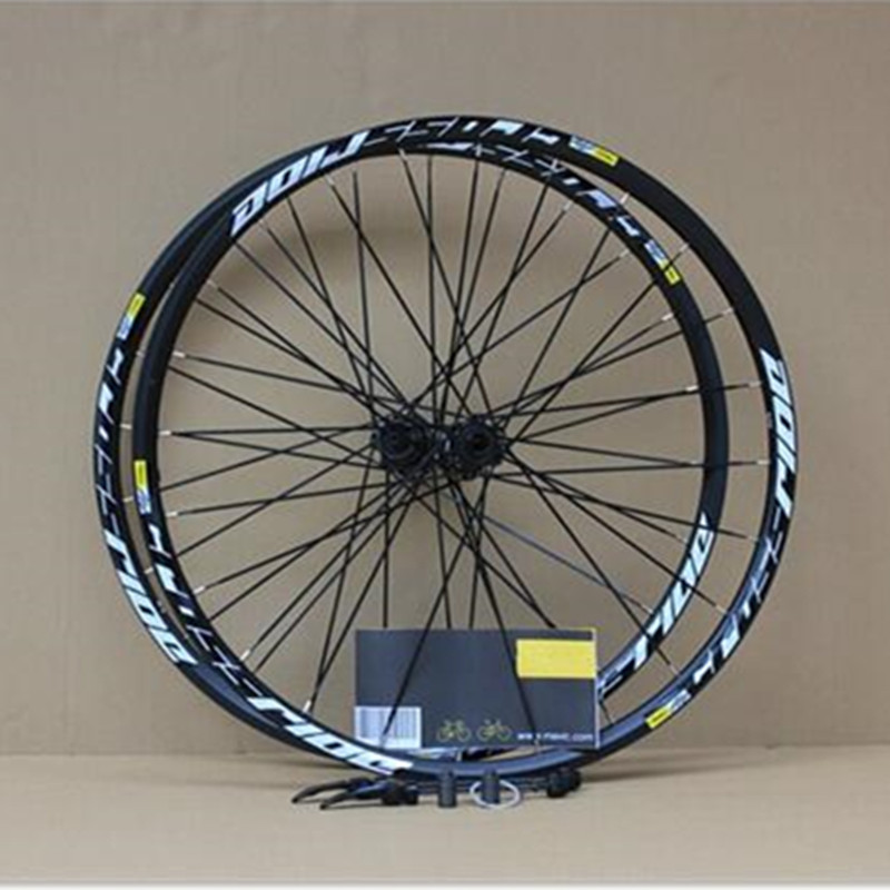 MEROCA MTB Mountain Bike Bicycle Sealed Bearing 26inch Wheel Six Hole Central Lock Wheelset Rim 27.5 29 все цены