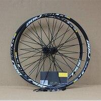 MEROCA MTB Mountain Bike Bicycle Sealed Bearing crossride disc wheelset 26inch Wheel Six Hole Central Lock Wheelset Rim 27.5 29