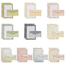 Творческий с надписью beautiful Бумага конверт цветочные милые комплекты с героями мультфильмов бланке маленькие свежие подарки
