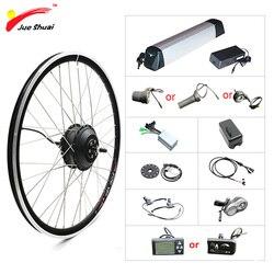 36V 250 W-500 W Kit de vélo électrique 20 26 700C moyeu moteur roue E vélo ebike Kit de Conversion Bicicleta Electrica vélo électrique
