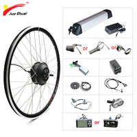 36V 250 W-500 W Kit de vélo électrique pour 20 26 700C roue moteur bouilloire batterie LED LCD Ebike e vélo électrique Kit de Conversion