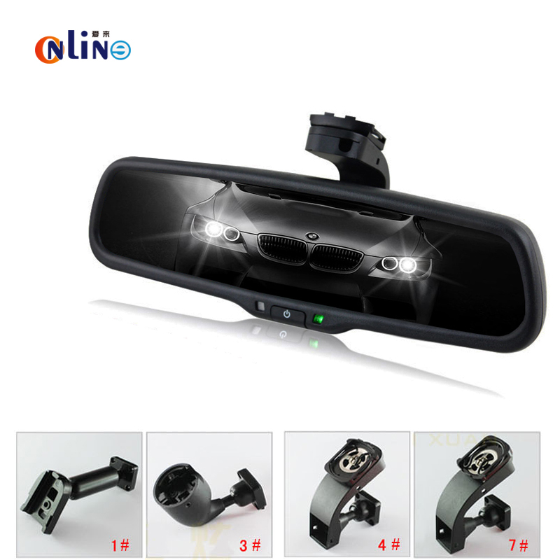 Clear View Special Bracket Car Electronic Auto Dimming Interior Rearview Mirror For Buick GL8 Firstland Park Avenue