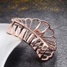 Encanto de la marca de Metal de diseño geométrico el pelo accesorios para el pelo de la boda las niñas y las mujeres pelo clip para cangrejo joyería regalos precios al por mayor