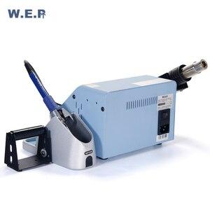 Image 4 - Wep 992d + ferro de solda ar quente estação de solda telefone ic pcb reparação desoldering estação bga retrabalho ferramenta de solda