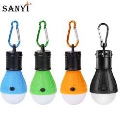 Tragbare Laterne Mini Zelt Licht 3 Modi Led-lampe Notfall Lampe Hand-gehalten Arbeit Licht Wasserdichte Hängen Haken Camping taschenlampe