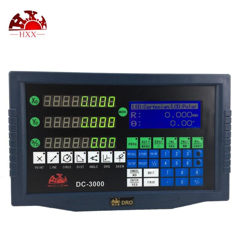 Amazing Quality Precision Dro System 3 Axis Digital Readout DC 3000 With 1um 50 1000mm Digital