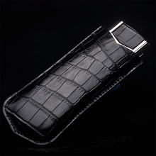 Фотография NEW Business Style Luxury Genuine Leather Case For Vertu Signature S CEO 168 Mobile Phone Protective Cover