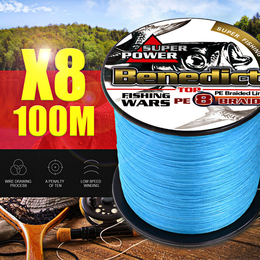 Image 4 - Strong PE 8 Strands  super quality 100M fishing line braid 0.63 0.68 0.75 0.80 1.0mm Multifilament 130 150 200 250 300LBS Smooth-in Fishing Lines from Sports & Entertainment