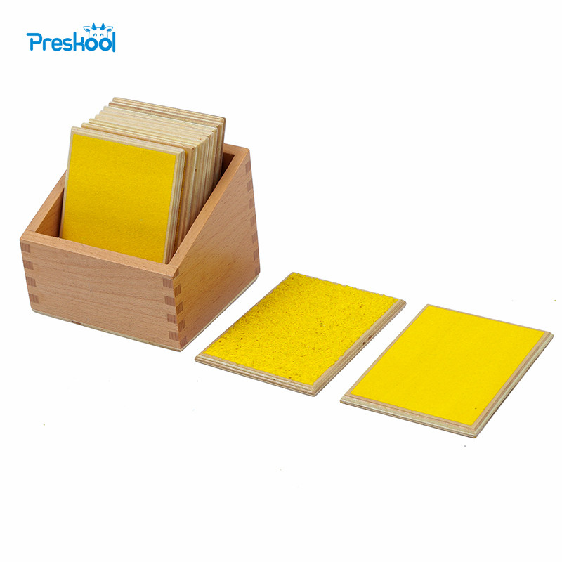 Baby Toy Montessori Touch Boards With Box Early Childhood Education Preschool Kids Toys Brinquedos JuguetesBaby Toy Montessori Touch Boards With Box Early Childhood Education Preschool Kids Toys Brinquedos Juguetes