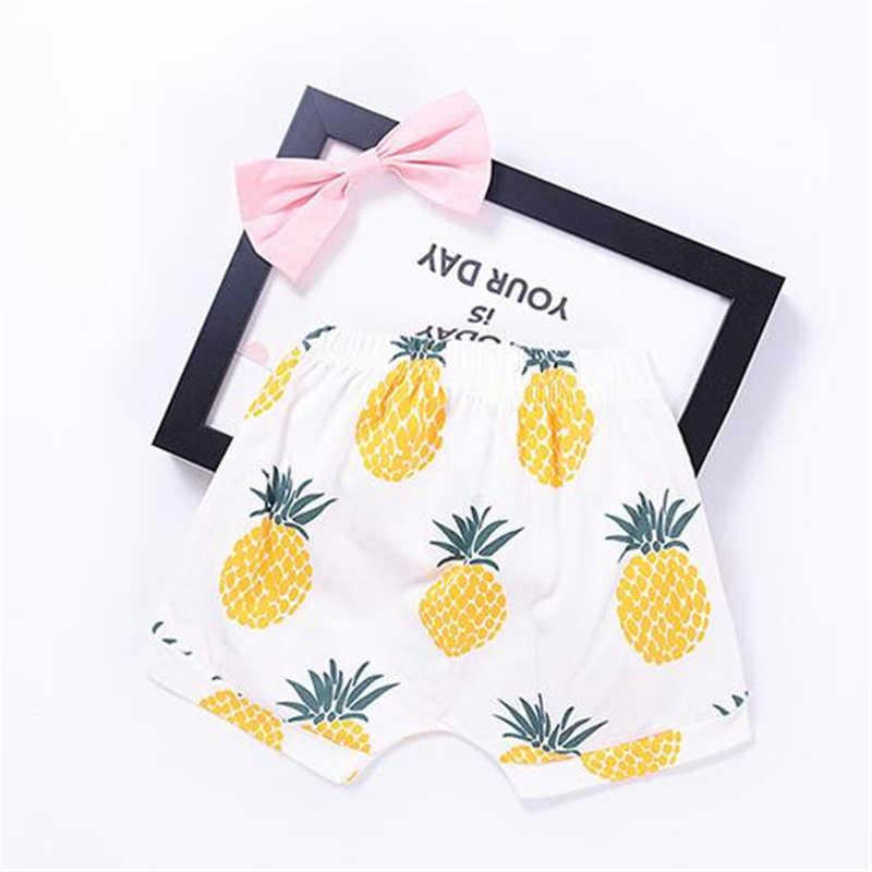 f27a50dc32ad0 Baby Bobo Choses New Summer Boys T Shirt Kids Tops Pineapple Pattern Girls  T-shirt Boys Pants Clothes Children's Clothing Sets