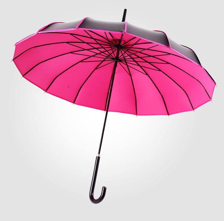 5 Colors Pagoda Palace Creative UV Protection Golf Umbrella Lady Princess Royal Long-handled Rainy Sunny Umbrella SN1659