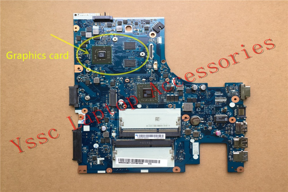 Free Shipping New NM A281 motherboard For Lenovo G40 45 laptop motherboard For AMD video card