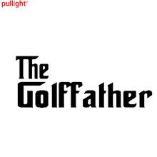 THE GOLF FATHER BUMPER STICKER FUNNY CAR WINDOW PAINTWORK VINYL DECAL