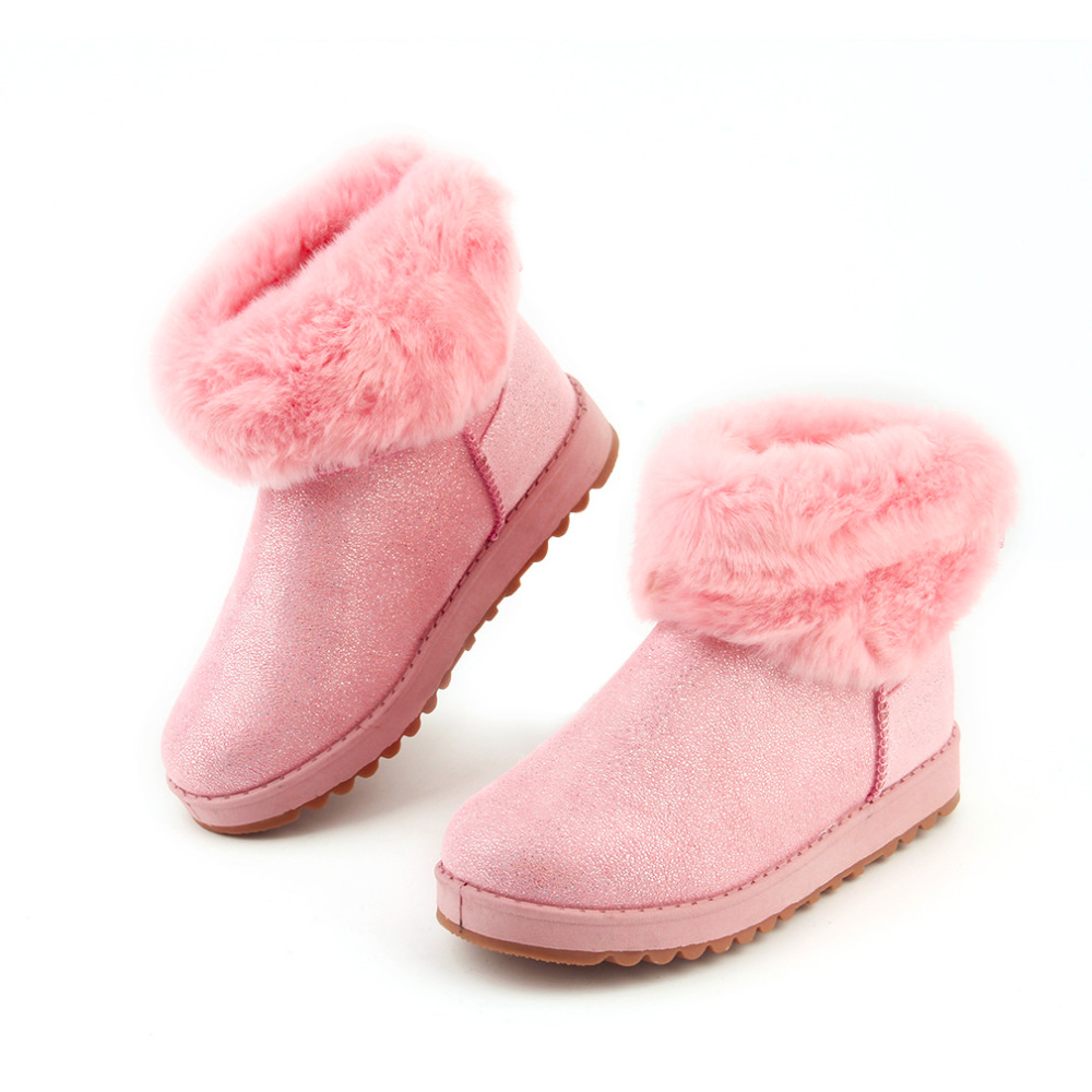 New Fashionable Style Women Ladies Winter Snow Boots Casual Middle Cylinder Sweet Girls Cotton Shoes Keep Warm 2016 Hot Sale 2016 new cylinder
