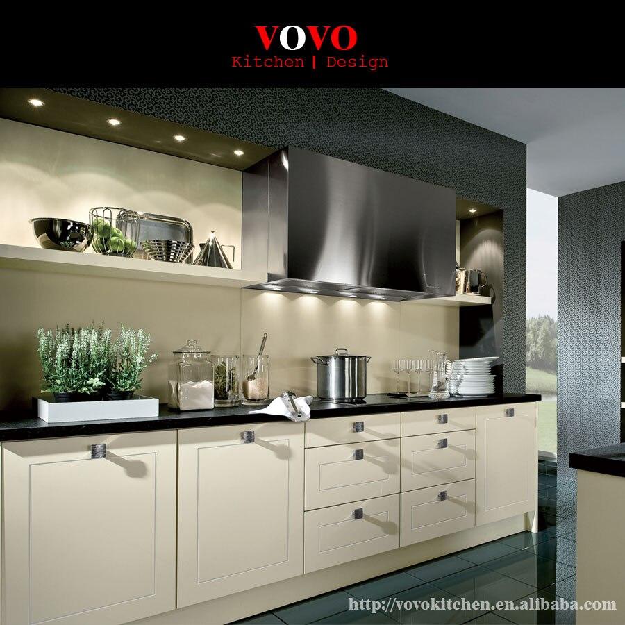 Meuble De Cuisine Laqué €2522.76  meuble de cuisine laqué beige mat lacquer kitchen cabinet kitchen  cabinet lacquer cabinet - aliexpress