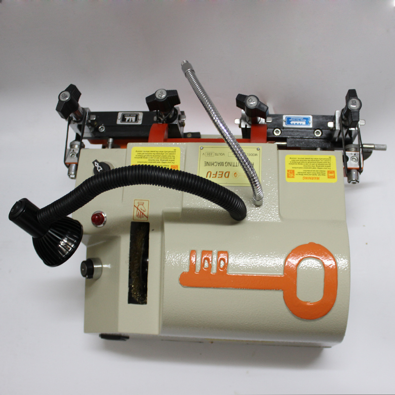 100E1 220v 50hz Vertical Key Cutter Defu Key Cutting Machine For Duplicating Security Keys Locksmith Tools
