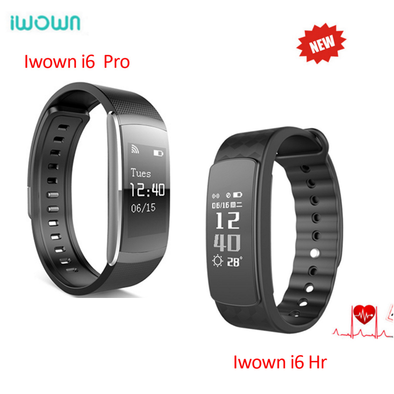 Original IWOWN I6 HR i6 pro Smart Wristband Heart Rate Monitor IP67 Waterproof Smart Bracelet Fitness