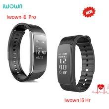 Оригинальный iwown I6 HR i6 pro Smart Браслет Heart Rate Мониторы IP67 Водонепроницаемый умный Браслет Фитнес трекер для андроид iOS
