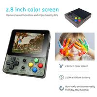 DSstyles 2.6inch Screen Mini Handheld Game Console Nostalgic Children Retro Game Mini Family TV Video Consoles