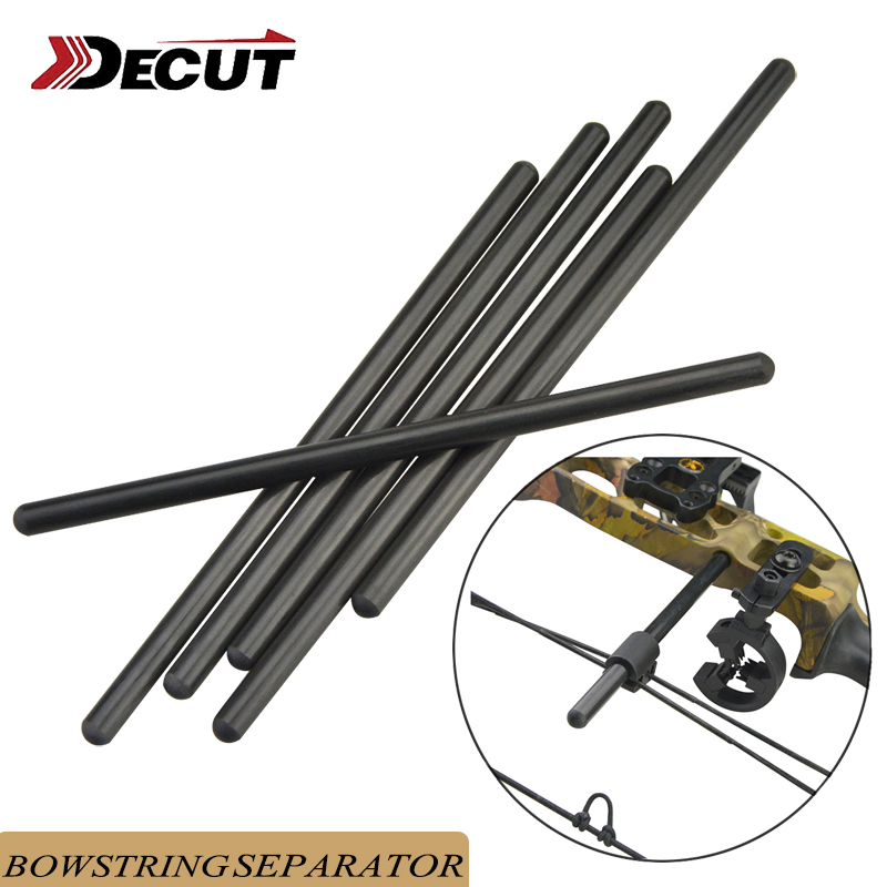 1pc Archery Compound Bow String Serving Tool Bowstring Suppressor Rod Shooting Bow String Stabilizer Split Rod Hunting Accessori-in Bow & Arrow from Sports & Entertainment