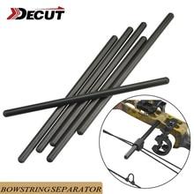 1pc tir à larc composé arc chaîne servant outil Bowstring suppresseur tige tir arc chaîne stabilisateur fendu tige chasse Accessori