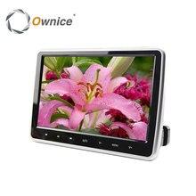 Ownice Nouvelle Arrivée 10.1 Pouce HD TFT LCD Écran Voiture Appui-Tête Moniteur DVD/USB/SD HDMI Lecteur