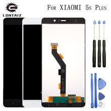 Original LCD screen display + Touch panel digitizer For 5.7″ Xiaomi 5S Plus M5S plus Mi5S plus Mi 5S Plus White Black+tools