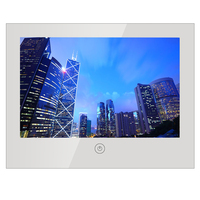 Yamet 10 6inch Vanishing Magic Mirror Shower TV IP66 Waterproof Hotel Bathroom Television