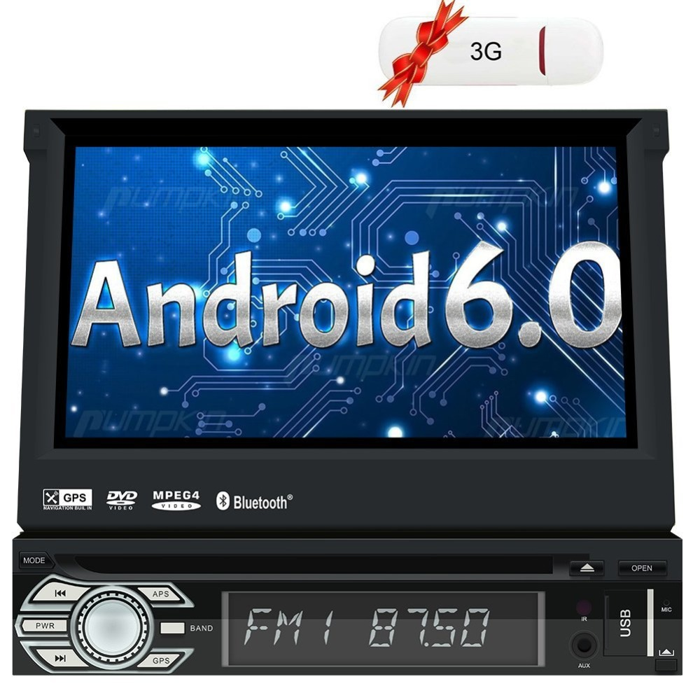 single din android autoradio 7 inch multi touch screen gps. Black Bedroom Furniture Sets. Home Design Ideas