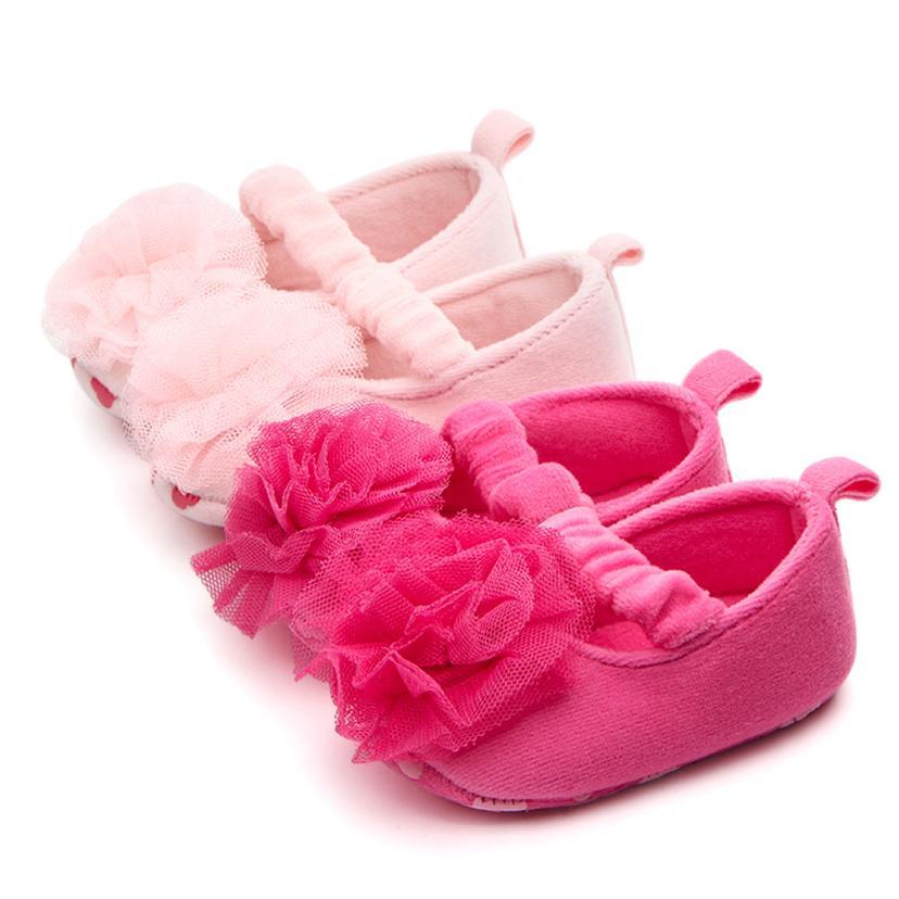 TELOTUNY Sneaker Soft-Shoes Anti-Slip Floral Childlren Newborn-Baby Girls Fashion