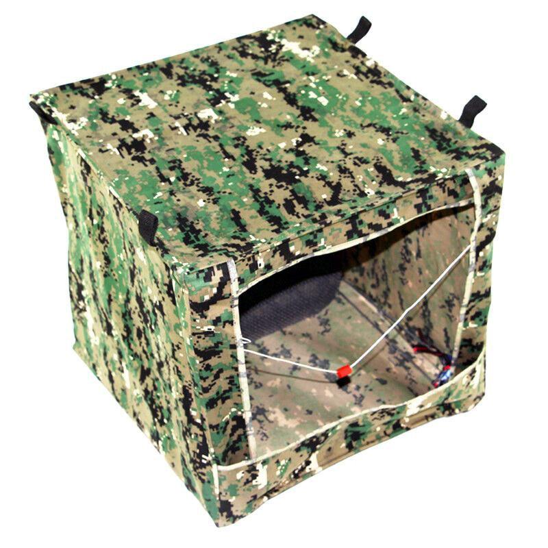 1PC 수직 스퀘어 대상 40cm Slingshot 슈팅 대상 야외 카 모 상자 고무 상자와 휴대용 상자 땡기
