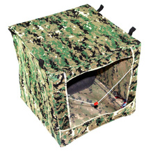 1PC Target Box Airsoft Gun Slingshot Shooting Archery Target Outdoor Digi Camouflage Box-type Portable Military Shooting Box wosport wst box type reset shooting target linkage metal spinner outdoor indoor durable harmless steel archery airsoft gun