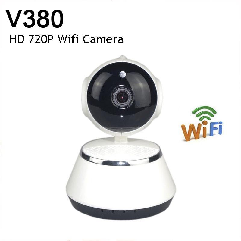 V380 HD 720P Mini IP Camera Wifi Camera Wireless P2P Security Surveillance Camera Night Vision IR Robot Baby Monitor Support 64G hd wireless robot ip camera 960p security camera 1 3mp cmos baby monitor pan tilt remote home security p2p ir night vision