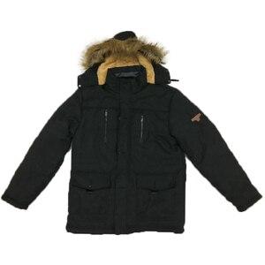 Image 5 - Kosmo masa 2018 algodão com capuz jaqueta de inverno masculino quente 6xl longo parka casacos com capuz homem casacos de pele casual para baixo parkas mp012